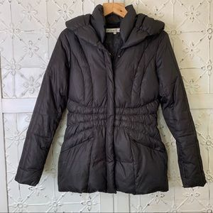 Kenneth Cole Black Down Puffer Coat